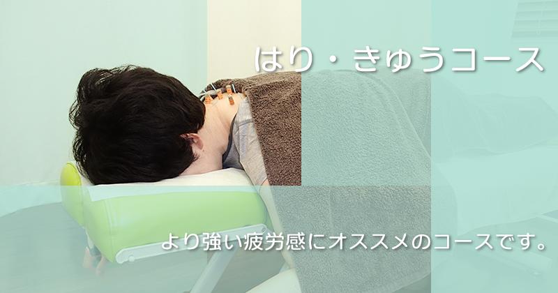 横須賀の整骨院 湘南いけがみ整骨院のはり・きゅうコース